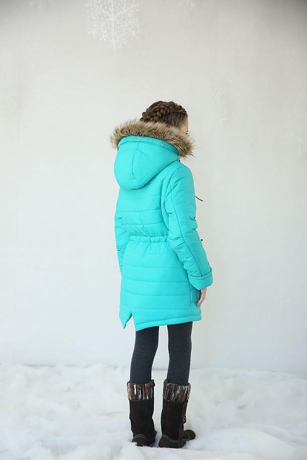 Куртка для девочки П3414