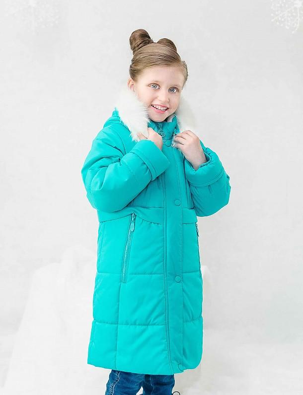 Пальто для девочки П3431
