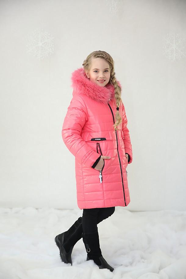 Пальто для девочки П3453
