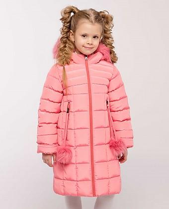 Пальто для девочки П3487