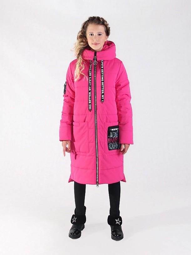 Пальто для девочки ПЗ-3912А