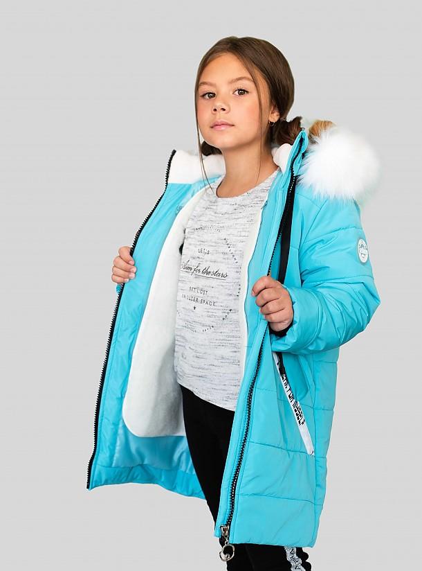 Пальто для девочки ПЗ-4075