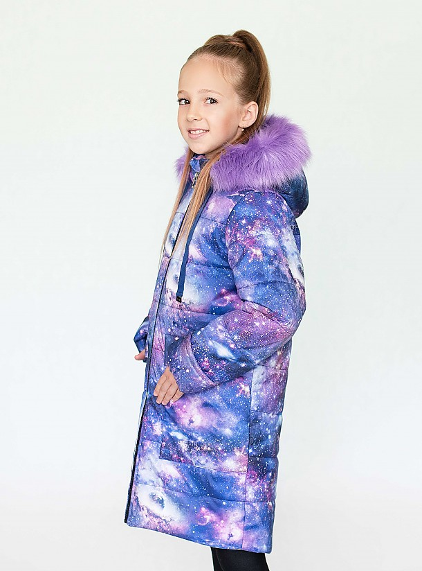 Пальто для девочки ПЗ-4084