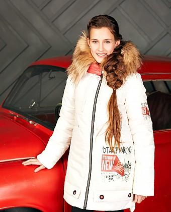 Пальто для девочки ПЗ-4094