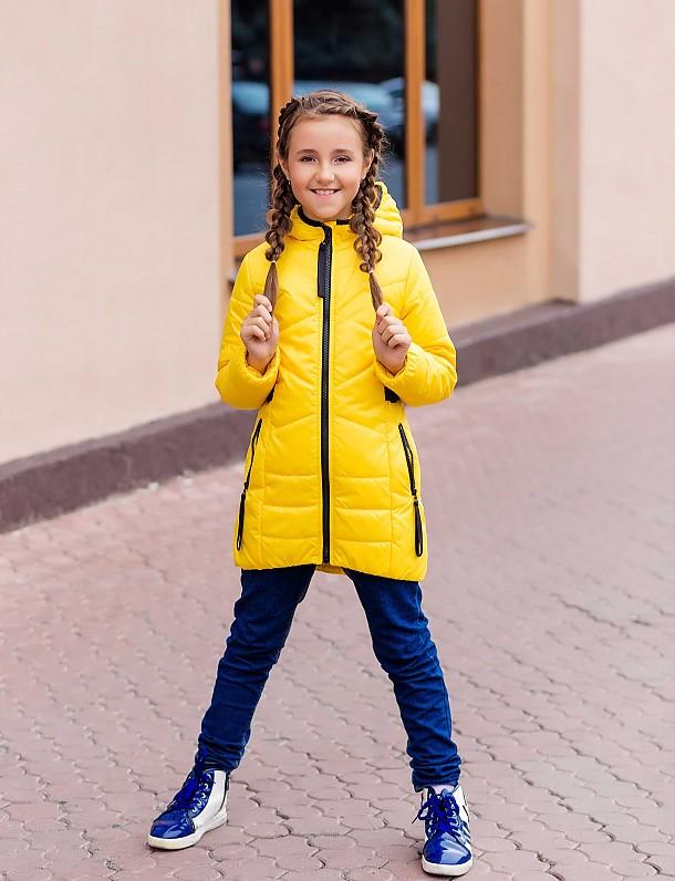 Куртка для девочки П3524