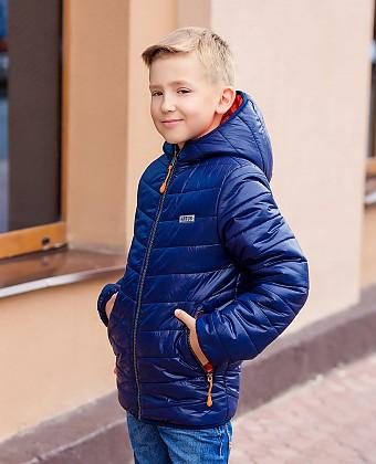 Куртка для мальчика (двухсторонняя) П3525А