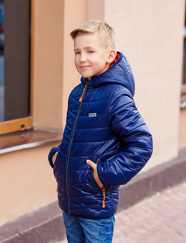 Куртка для мальчика (двухсторонняя) П3525
