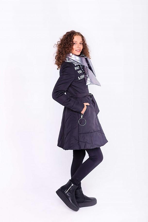 Пальто для девочки ПД-3739