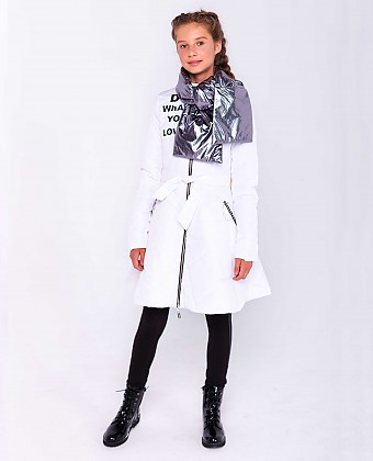 Пальто для девочки ПД-3739А